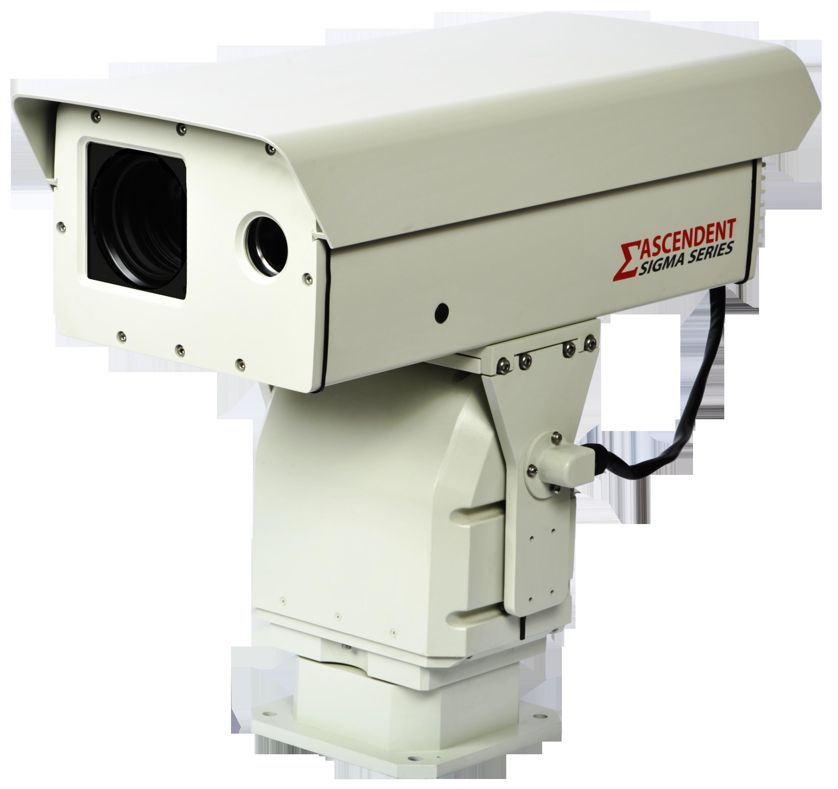 Ascendent Night Vision Long Range Laser Ir Ptz Camera With