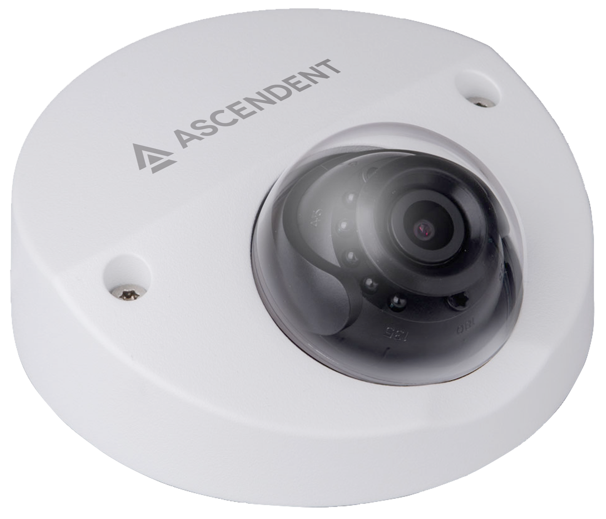 Ascendent 4MP MVRD IR Camera w/AVA Video Analytics and Face