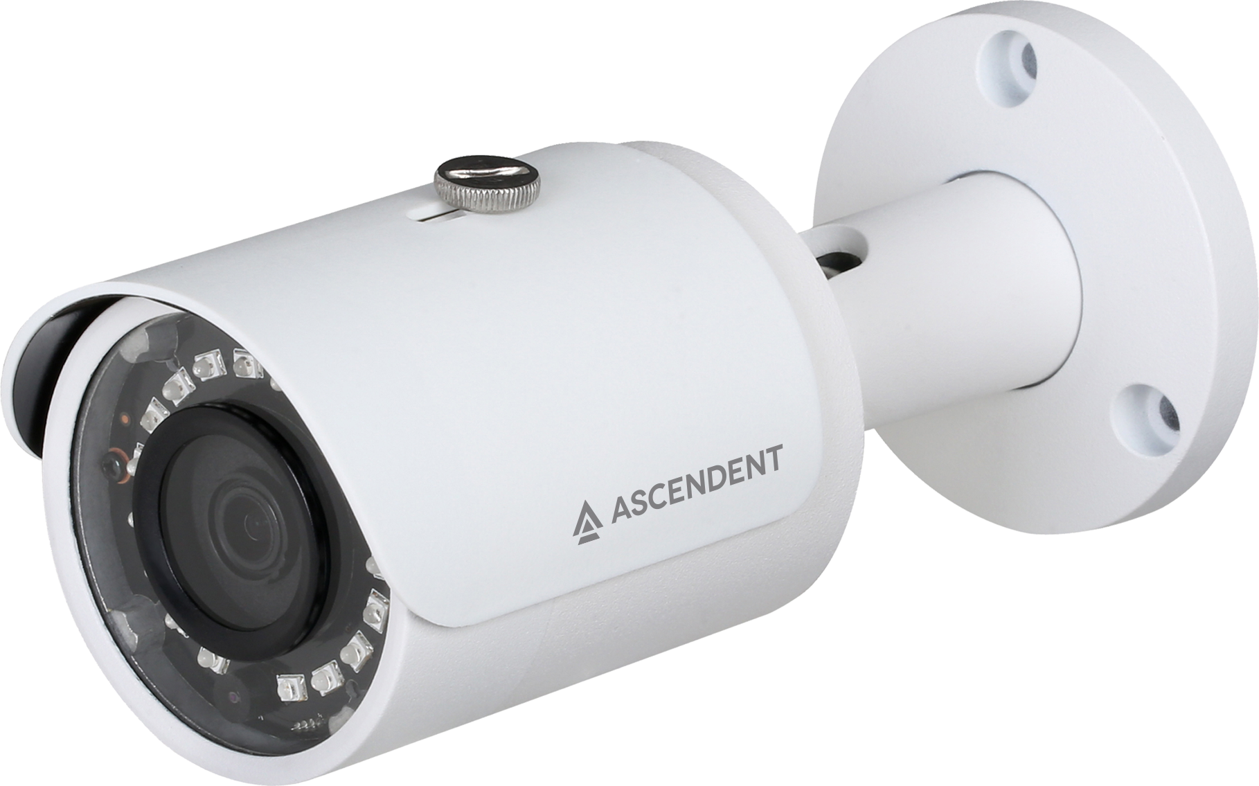 Ascendent 4MP Mini Bullet IR Camera w/AVA Video Analytics and Face