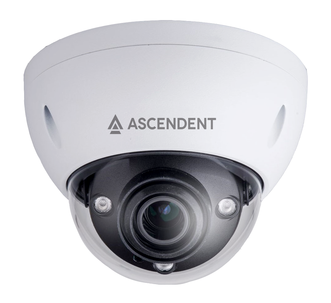 Ascendent 4MP VRD IR Camera w/AVA Video Analytics and Face Detection